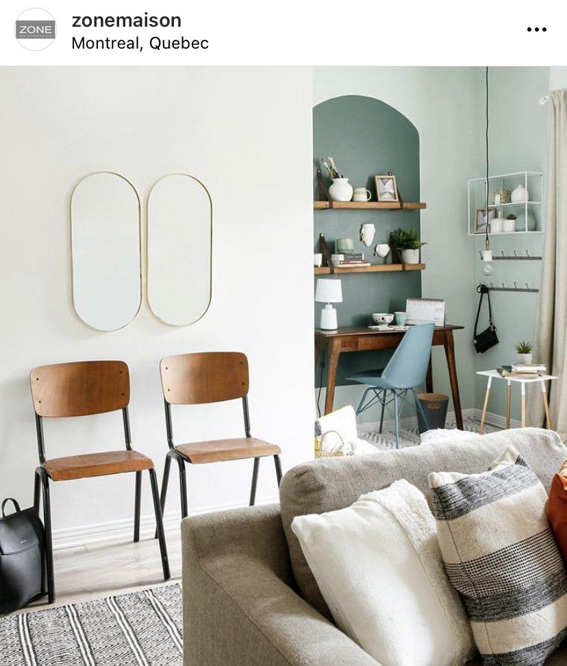 photo d'idées de décoration d'appartement de zone maison