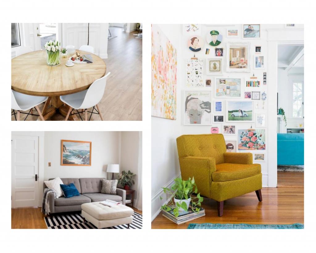 Collage photo ZWM d'appartements