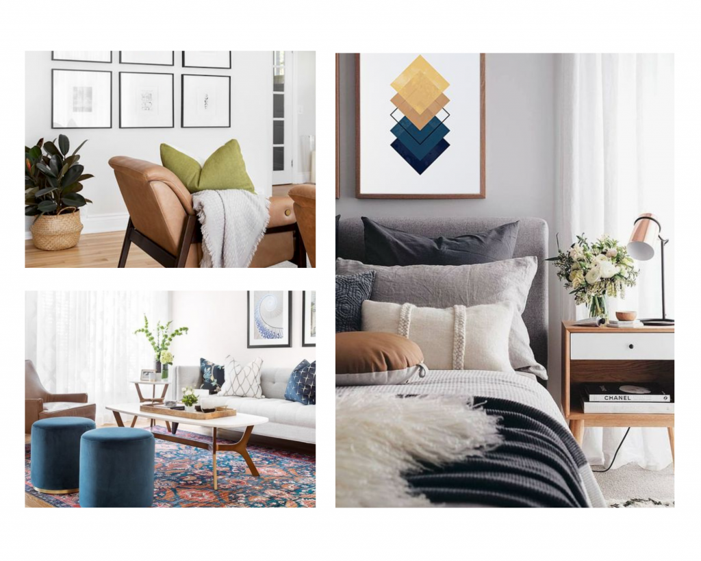 photos of apartments from Hibou Design & Co