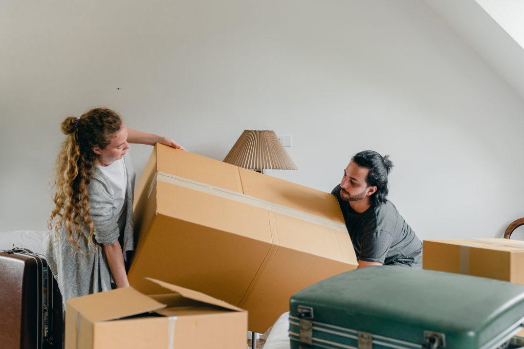 essentiels d'appartement: déménager