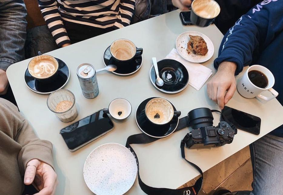 coffee shops : melk