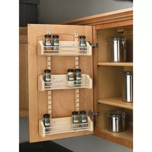 Cabinet Door Organization - organizing small spaces.