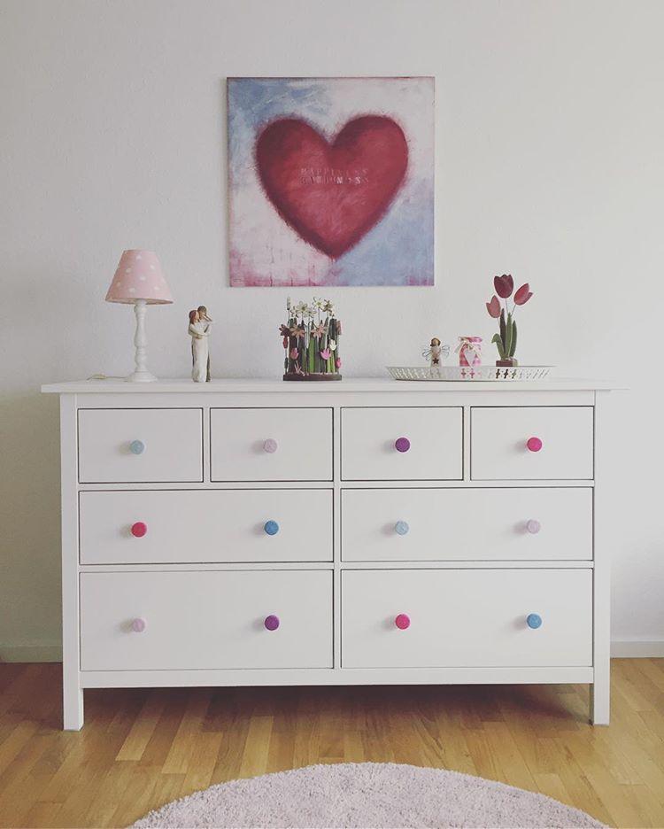 Dresser Drawer handles - decorating on a budget