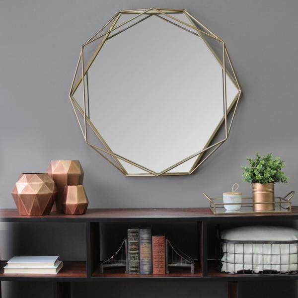 Mirror decor- decorating on a budget